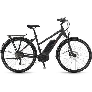 Vélo de Ville Électrique WINORA SINUS TRIA 10 TRAPEZ Noir 2019